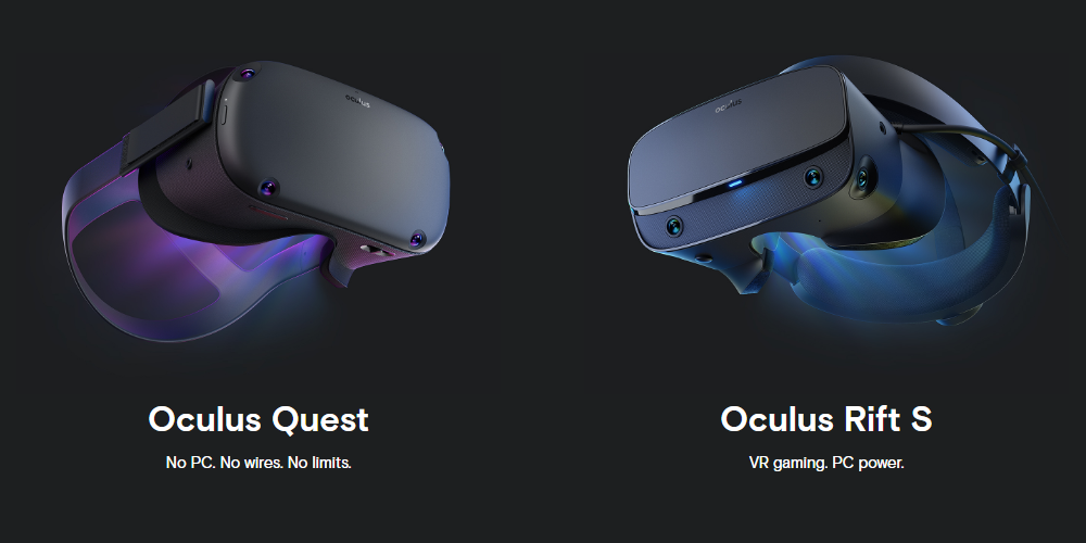 Oculus Quest and Oculus Rift S