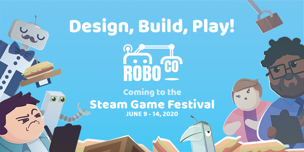 RoboCo is coming to the Steam Game Festival: Summer Edition!