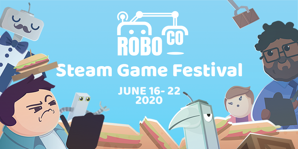 Our RoboCo Steam Game Festival Demo is LIVE!
