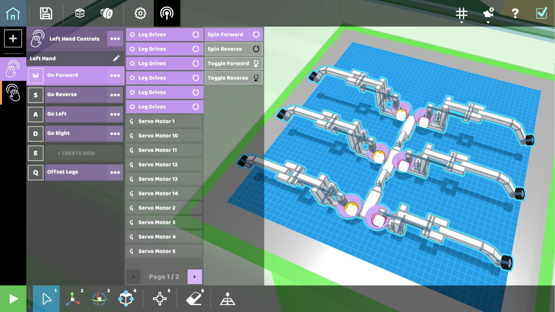 roboco screenshot with complex robot