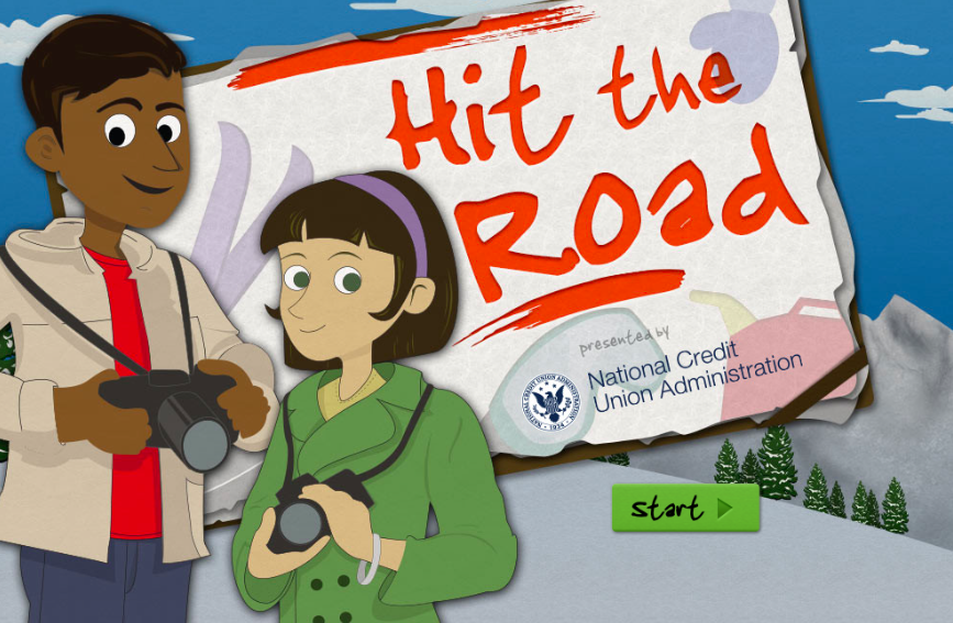 Hit the Road | Title Screen