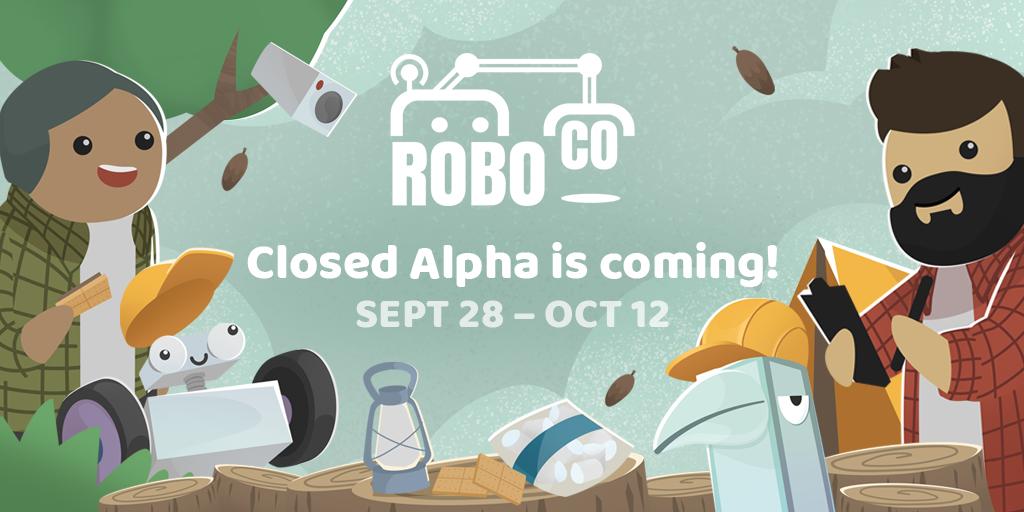 RoboCo Closed Alpha is coming!